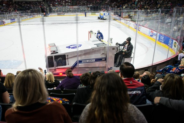 It's always fun to see how the Zambonis will be docorated.
