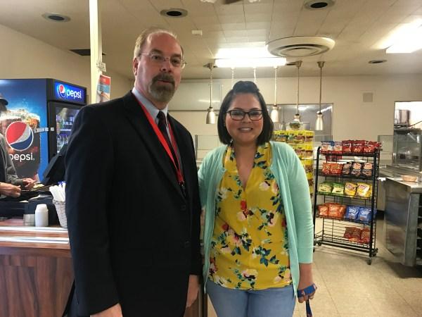Don Chruciel with Isabel Castaneda