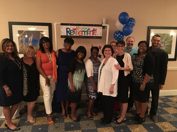 BC Gang at Odella Johnson's Retirement Party