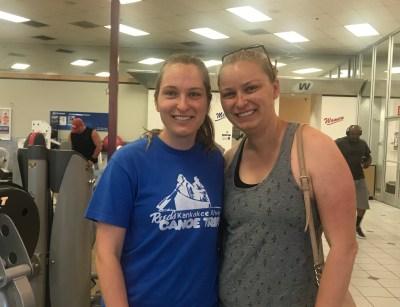 Erin and Kristin Tarjan May 28 2017