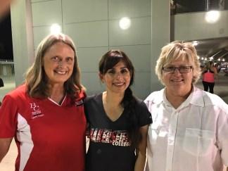 Janet Tarjan, Sonya Christian, Sandi Taylor