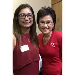 Olivia Garcia and Karen Goh