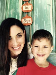 Andrea Thorson and Son Jimmy from Facebook October 13 2017