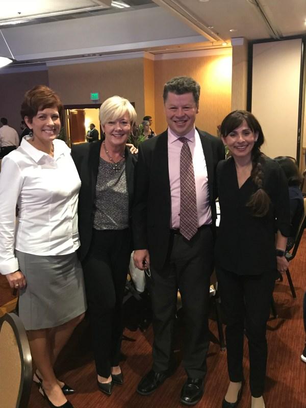 Cheryl Scott, Kristen Barnes, Richard Chapman, Sonya Christian