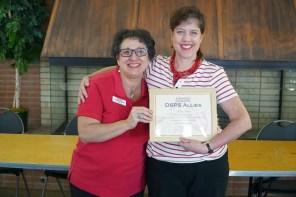 Disability Awareness elleen Peirce award recipient