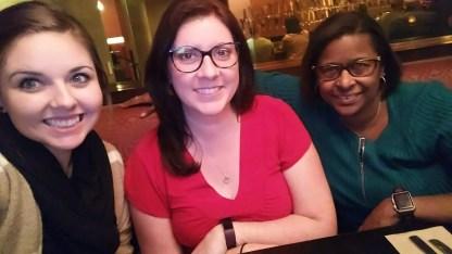 Lesley Bonds, Grace Commiso, Jennifer Johnson Oct 27 2017
