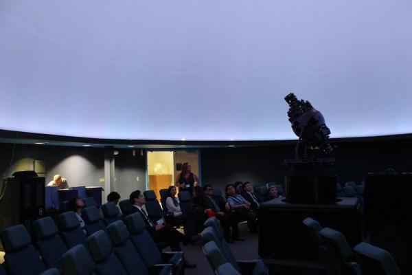 Planetarium with Korean Delegation