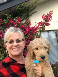 Dena Rhoades and Bob at 10 weeks Dec 2017