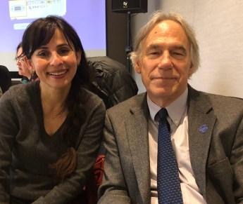 Sonya Christian and Richard Mahon Spring 2018