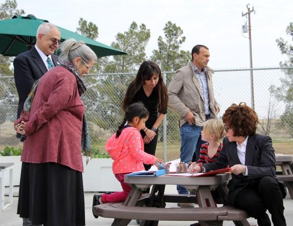 Admin Team, Lynda Resnick, and Children
