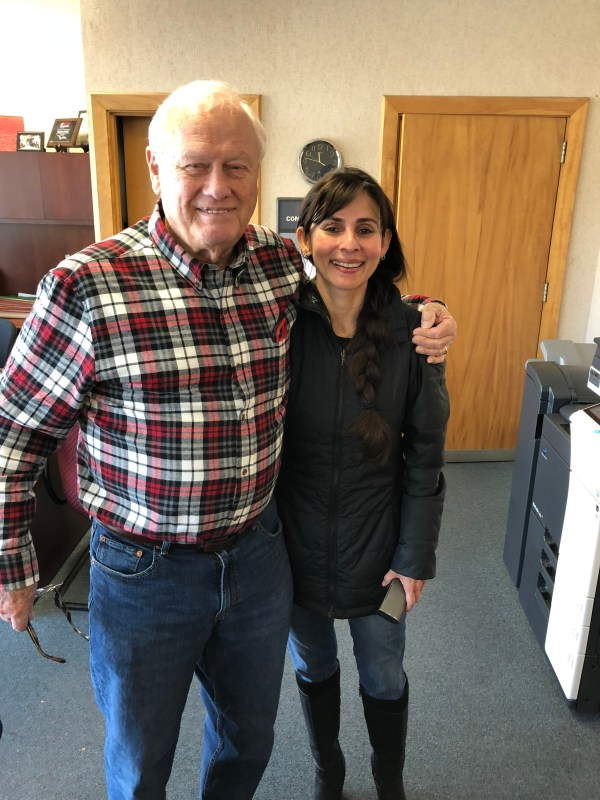 Bob Covey and Sonya Christian Jan 26 2018