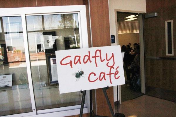 Gadfly Cafe logo