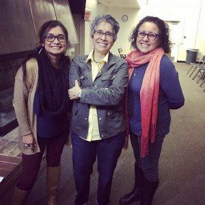 Olivia Garcia, Dr. Lydia Otero, Tina Mendoza