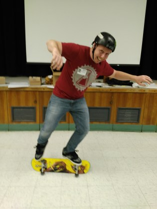 Greenfield Union School District - Benker Physics of Skateboardin