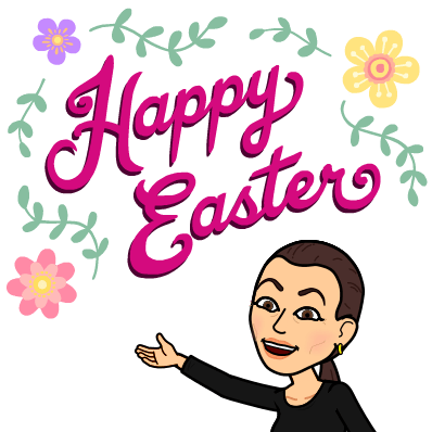 Sonya Christian Bitmoji Happy Easter