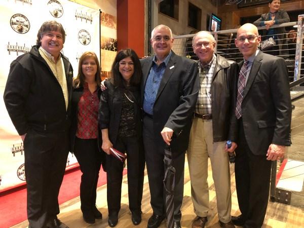 Steve and Lori Holmes, Khushnur and Zav Dadabhoy, Bob Allison, Manny Mourtzanos