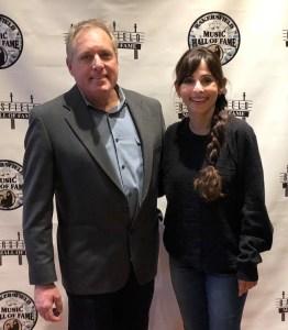 Trustee Kyle Carter and Sonya Christian