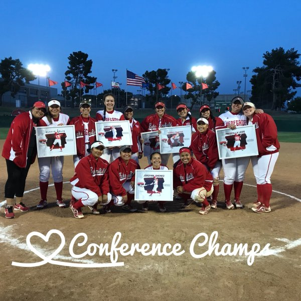 Softball conference champions April 19 2018