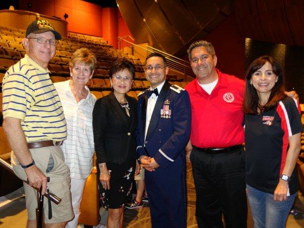 Jim Pentico, Pam Moore Pentico, Karen Goh, Paul Beckworth, Sonya Christian