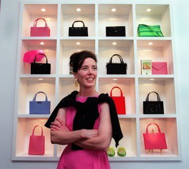 Designer Kate Spade In Boston, photo from Time.com