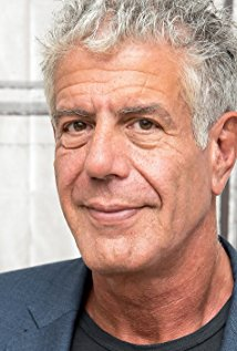 Anthony Bourdain, photo from IMDb.com
