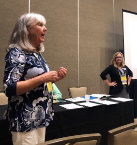 Janet Fulks and Virginia May July 2018