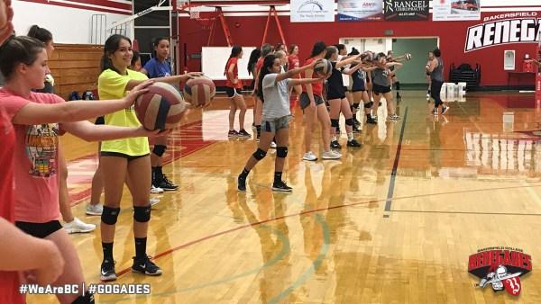 2018 Summer Volleyball Camp