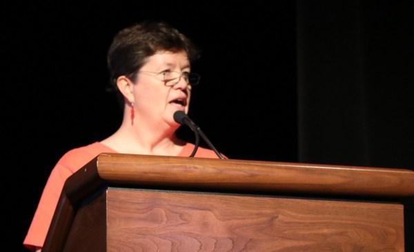 Susan Pinza at Opening Day 2018