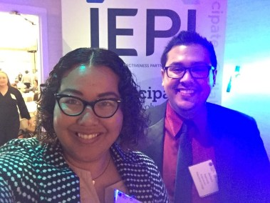IEPI Conference - Zach and Somaly 2