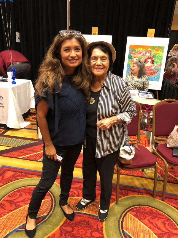 Olivia Garcia and Dolores Huerta