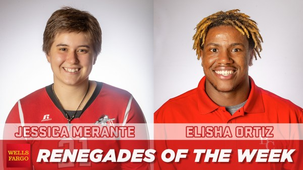 9.8 RENEGADES OF THE WEEK