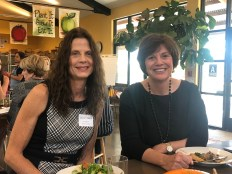 Barbara Grimm and Tricia Bland