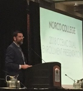 Dr. Bryan Reece of Norco College