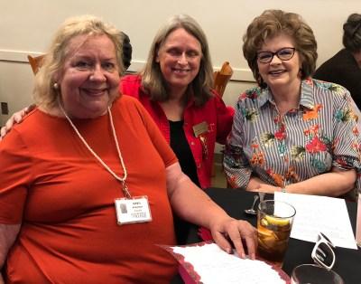 Gayle Richardson, Janet Tarjan, Susan McQuerry