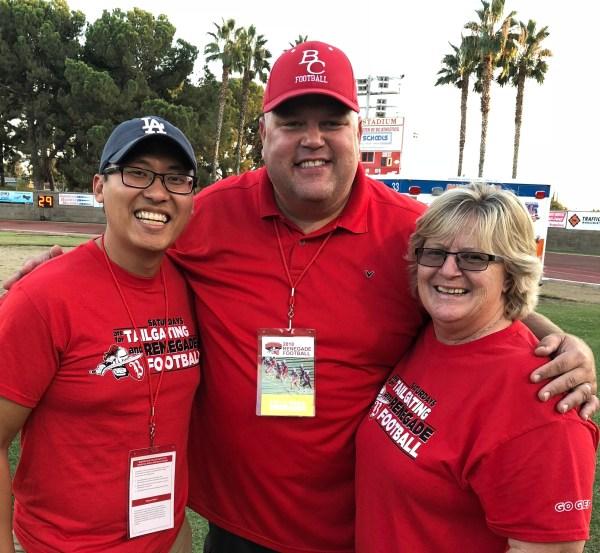 Football -Vince Fong, Chad Manning, Sandi Taylor