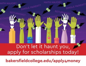 Halloween Hands for Scholarship