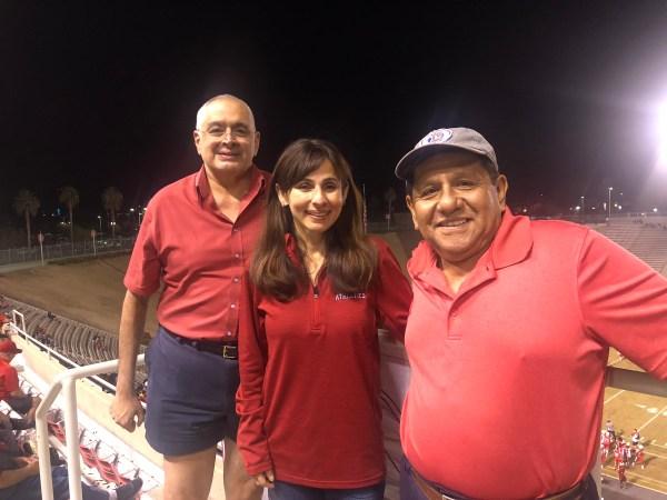 Sonya Christian, Zav Dadabhoy, & Carlos Barbaran