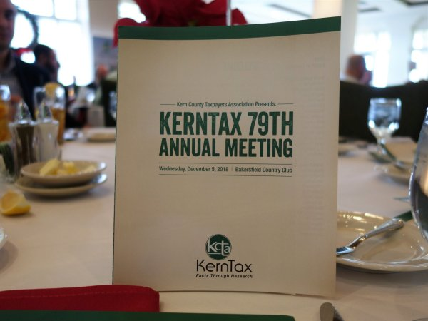 Table card at the annual Meeting