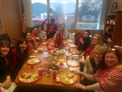 Executive Suite Holiday Potluck