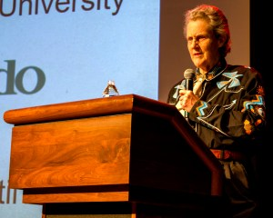 Temple Grandin speaking