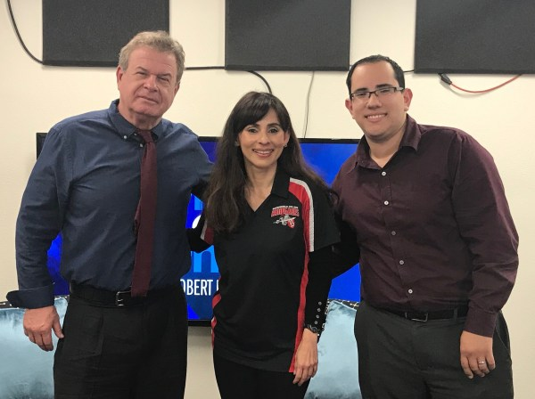 Bob Price, Sonya Christian, and Joseph Luiz