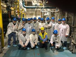 BC Students at the Nestle plant