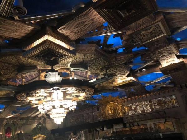 Pantages ceiling art