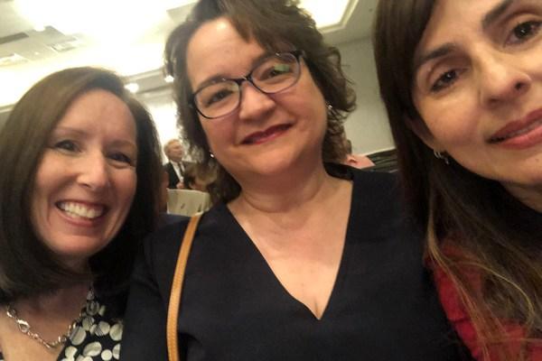 Stephanie Droker, Mary Okada, Sonya Christian