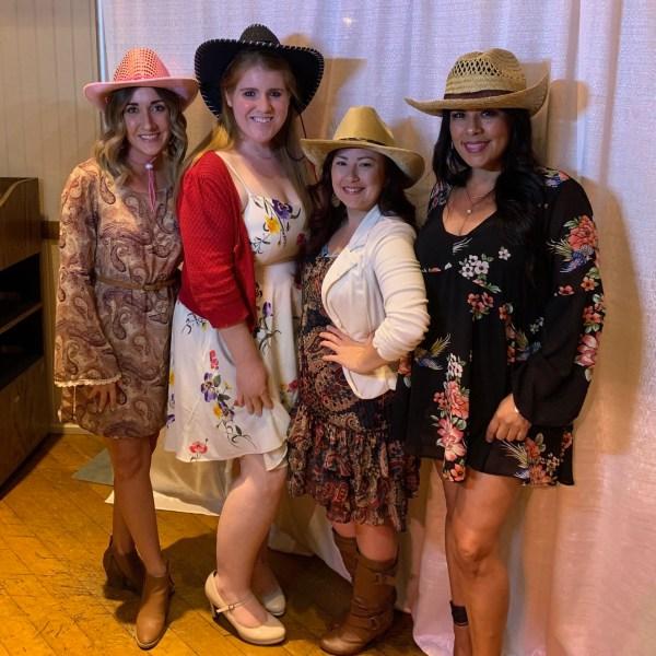 Kylie Swanson, Monika Scott, Endee Grijalva, Lisa Robles