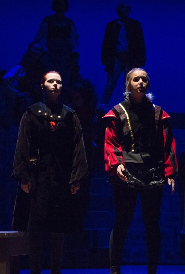 Two Shakespearean actors.