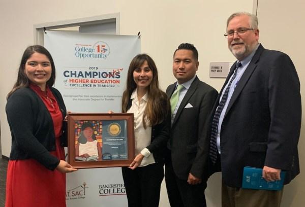 Group Photo at CCCO Award