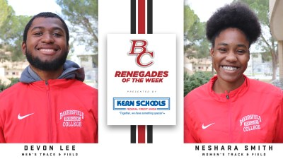 Renegades of the week Devon Lee and Neshara Smith.