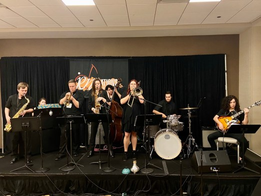 BC jazz students perform in New Orleans.