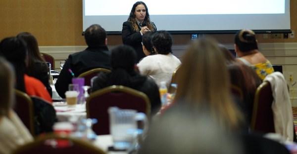 Keynote speaker Rochelle Trochtenburg